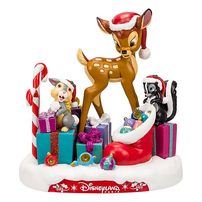 Disneyland Paris Bambi and friends Christmas Figurine