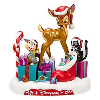Figurine de Noël Bambi et ses amis Disneyland Paris