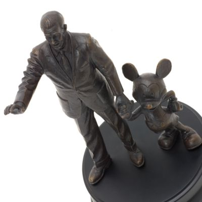 Walt Disney and Mickey Mouse 'Partners' Bronze Statue