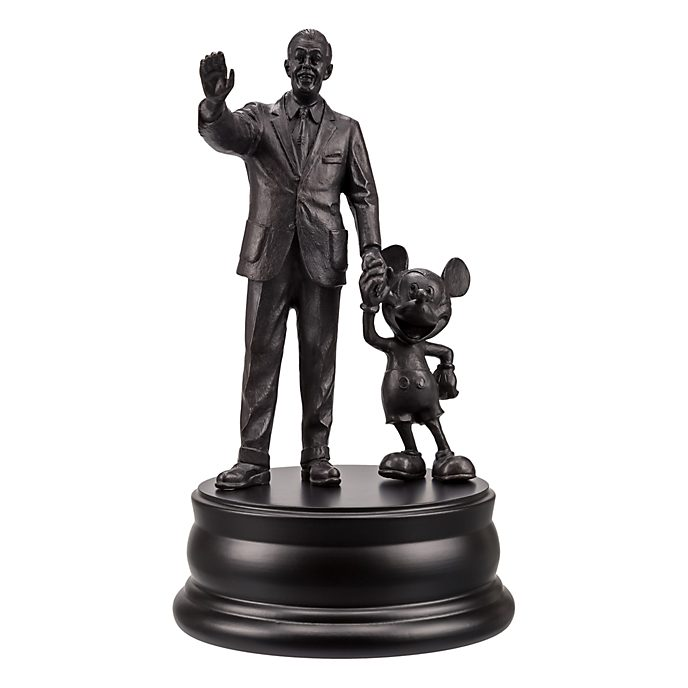 Statue 'Partners' en bronze Walt Disney et Mickey Mouse