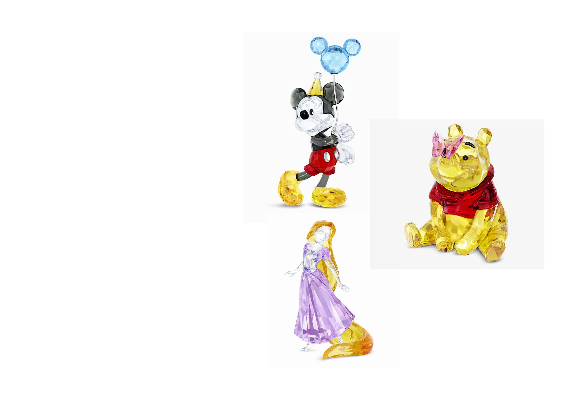 Creazioni di cristallo Meravigliose creazioni di cristallo ispirate dai tuoi personaggi Disney preferiti. ACQUISTA ORA