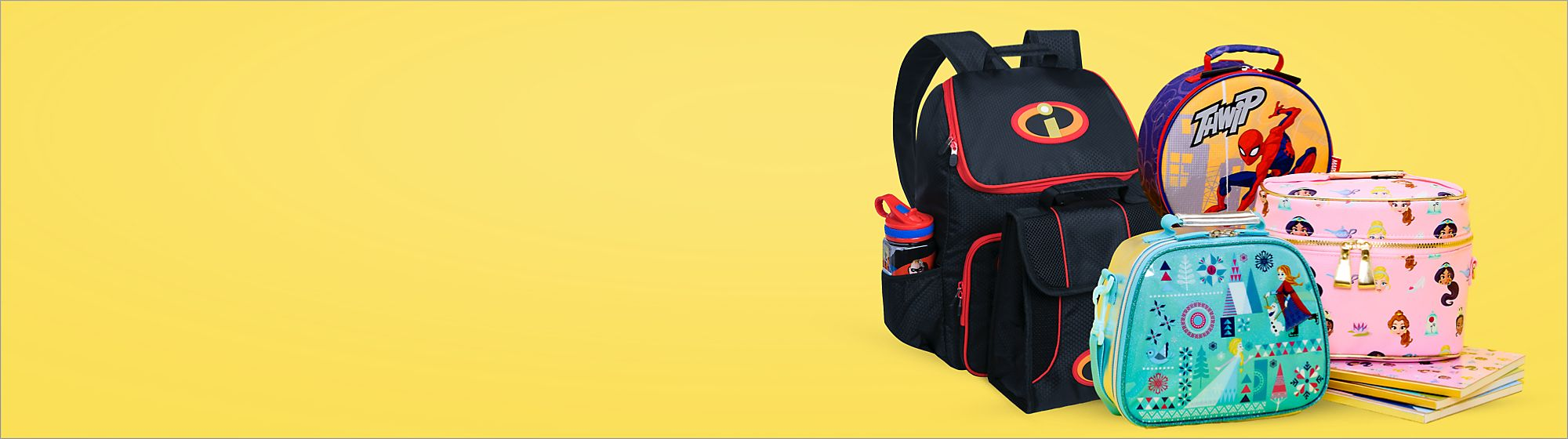 Kids' Bags and Accessories Take the fun with you with our range of Disney, Star Wars and Marvel kids' bags and accessories SHOP NOW