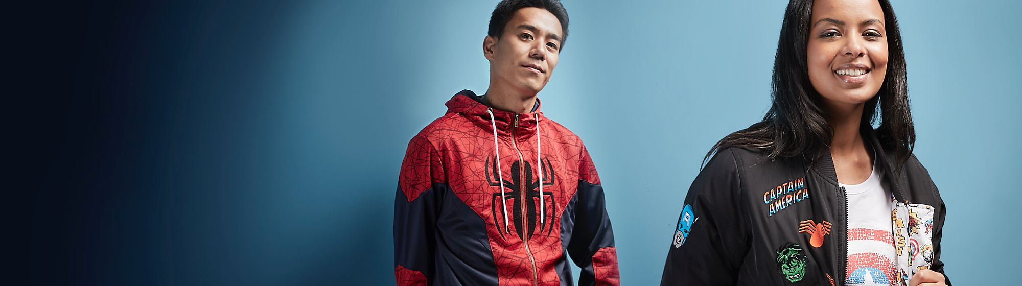 Marvel Clothing Heroes assemble! Marvel clothing from across the universe for superheroes from every galaxy