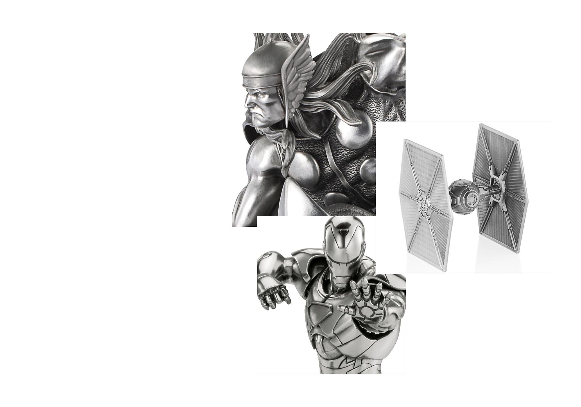 Perfect in Pewter Expertly rendered in Royal Selangor pewter, our Disney, Marvel and Star Wars figures feature amazing character and costume detailing. SHOP NOW