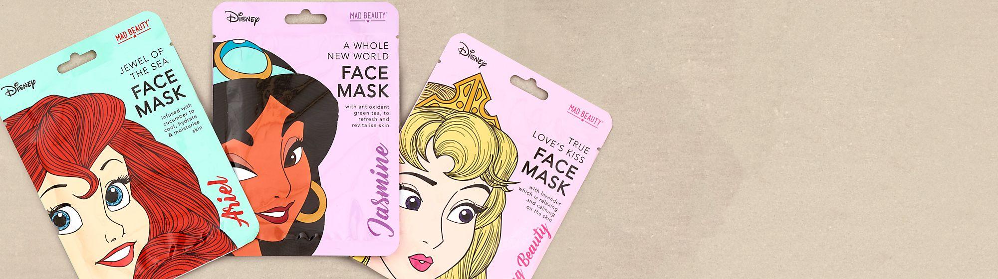 Gesichts- und Körperpflege Durchstöbere unser Sortiment an Gesichts- und Körperpflegeprodukten und entdecke Motive deiner Lieblingsfiguren wie Disney Prinzessinnen und Minnie Maus.