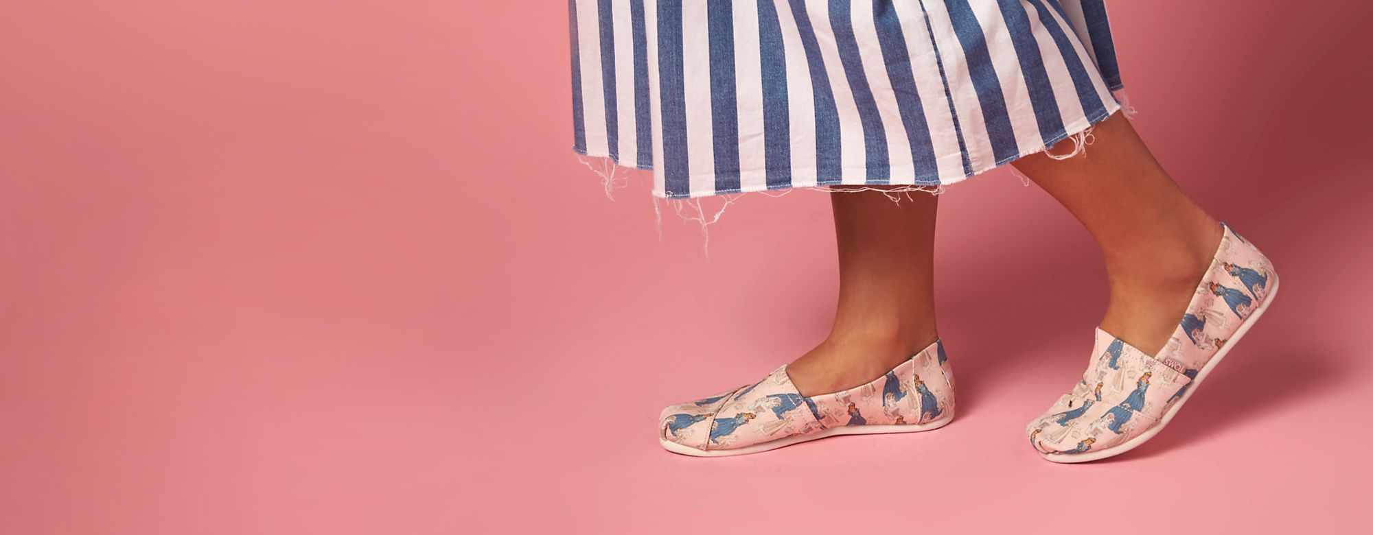 Disney x TOMS Put your best foot forward and find your sole mate with the Disney Toms collection