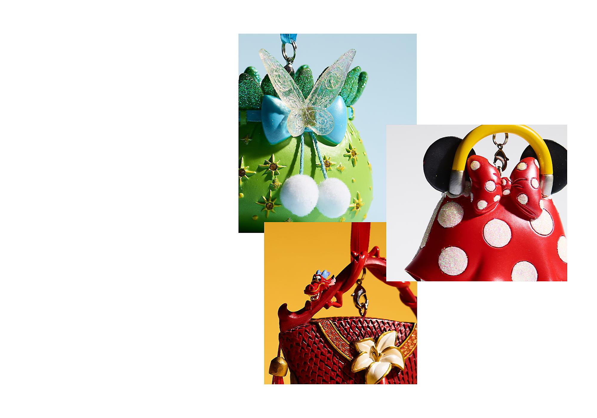 Disney Classics Collection Taking inspiration from some of our most beloved films, we have a perfectly classic collection of handbag ornaments for your home.