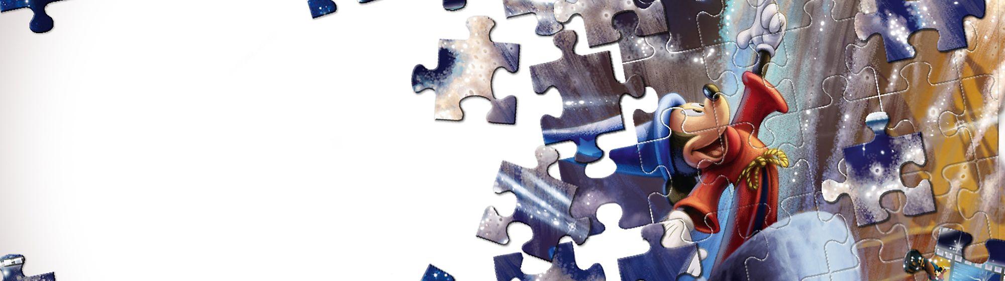 Puzzles Spielspaß garantiert mit Disneys Puzzles, Spielen und Spielsets von Micky, Rapunzel, Avengers und vielen mehr.