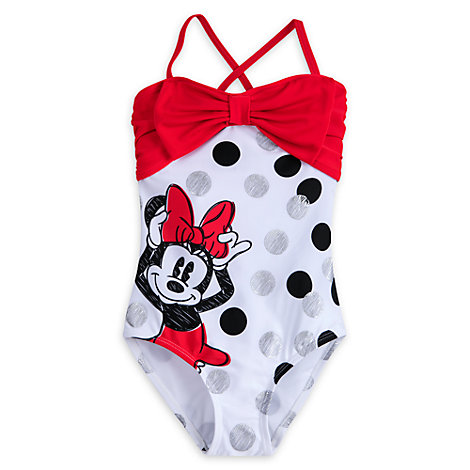 Maillot de bain pour enfants Minnie Rocks The Dots