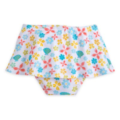 Moana 2 Piece Floral Swimsuit For Kids