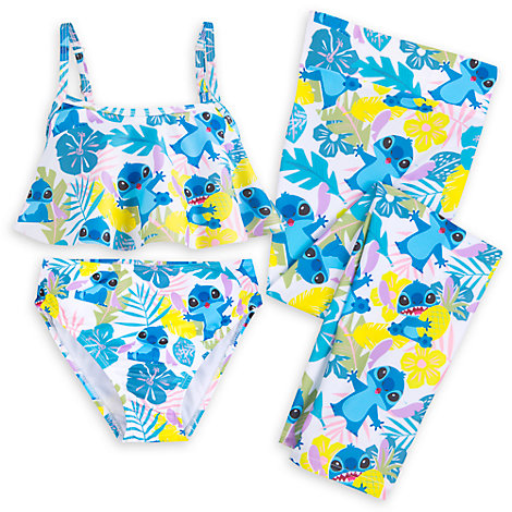 Stitch 3 Piece Swimsuit For Kids
