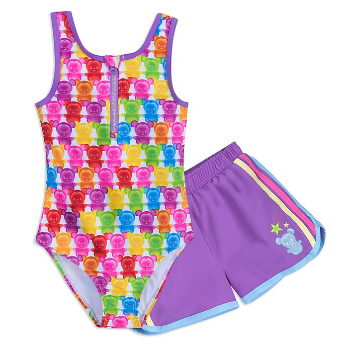 Disney Store Mickey and Minnie Swimsuit Set For Kids