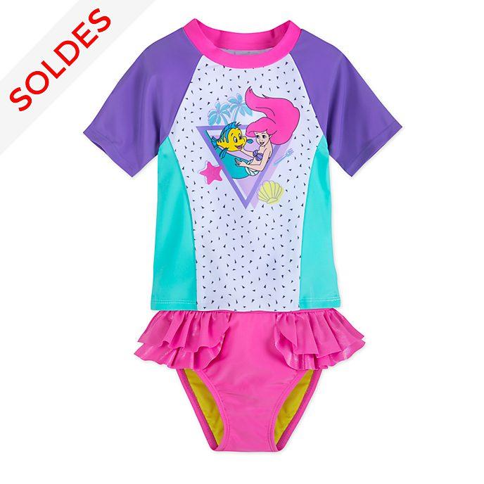 Disney Store Maillot de bain 2pièces La Petite Sirène pour enfants