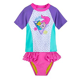 Disney Store The Little Mermaid 2 Piece Swimsuit For Kids