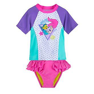 Disney Store The Little Mermaid 2 Piece Swimsuit For Kids
