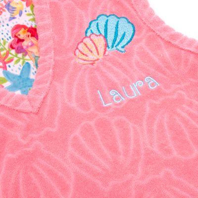 Arielle, die Meerjungfrau - Ärmelloser Strandmantel mit Kapuze für Kinder