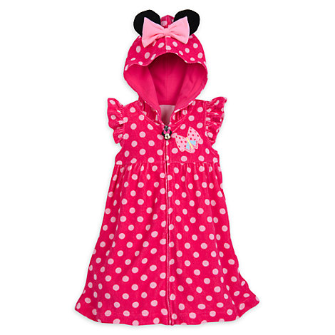 Minnie Mouse Swim Cover-Up For Kids