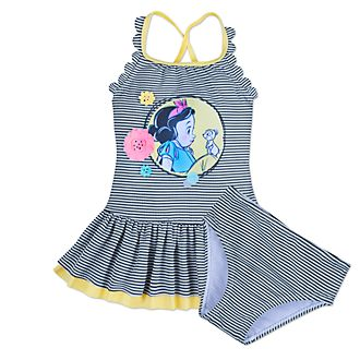 Disney Store Disney Animators' Collection Snow White 2 Piece Swimsuit For Kids