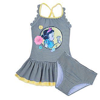 Bañador infantil Blancanieves 2 piezas, colección Disney Animators, Disney Store