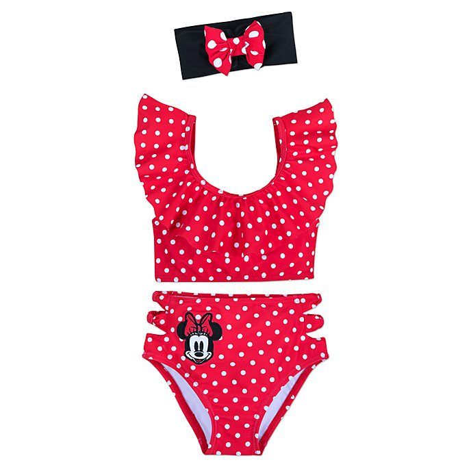 0e90042d5 Bañador infantil 3 piezas Minnie Rocks the Dots, Disney Store