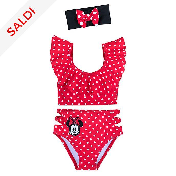 Costume da bagno 3 pezzi bimbi Minni Rocks the Dots Disney Store