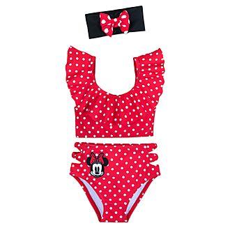 Disney Store Maillot de bain 3pièces Minnie Rocks the Dots pour enfants