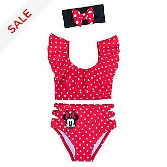 Disney Store Minnie Rocks the Dots 3 Piece Swimsuit For Kids