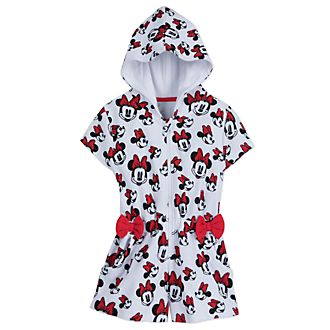 8f175bd0e7462 Disney Store Minnie Mouse Swim Cover-Up For Kids
