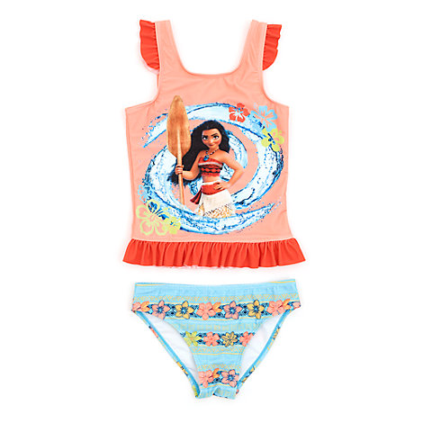 Moana 2 Piece Swimsuit For Kids