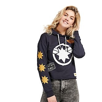 Disney Store Sweatshirt Captain Marvel à capuche pour adultes