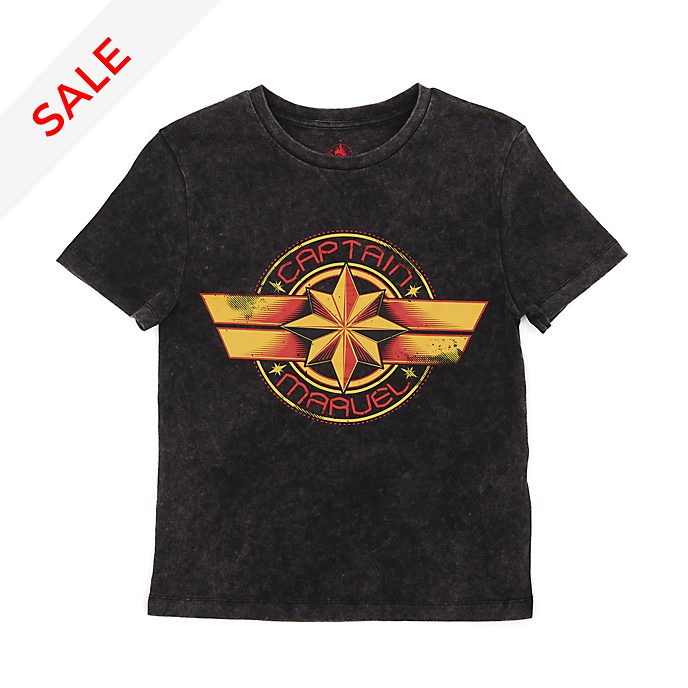 Disney Store Captain Marvel T-Shirt For Adults