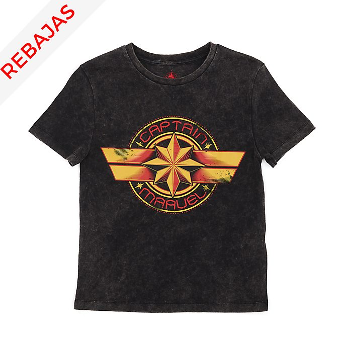 Camiseta Capitana Marvel para adultos, Disney Store