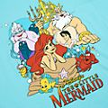 Disney Store The Little Mermaid T-Shirt For Adults