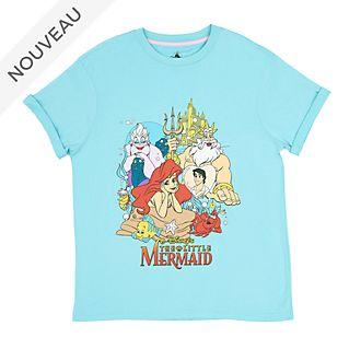 Disney Store T-shirt La Petite Sirène pour adultes