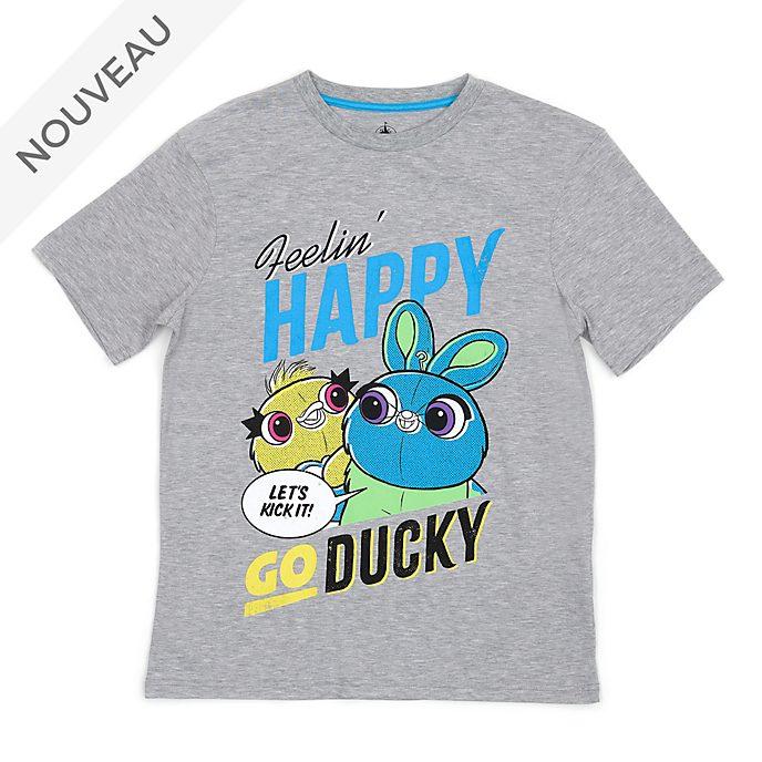 Disney Store T-shirt Ducky et Bunny pour Adultes, Toy Story4