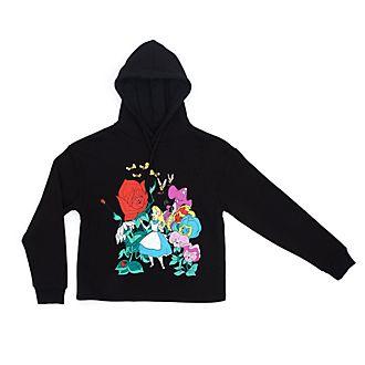 Disney Store Alice in Wonderland Hooded Sweatshirt For Adults