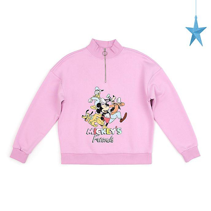 Felpa adulti con cerniera Topolino e i suoi amici Disney Store