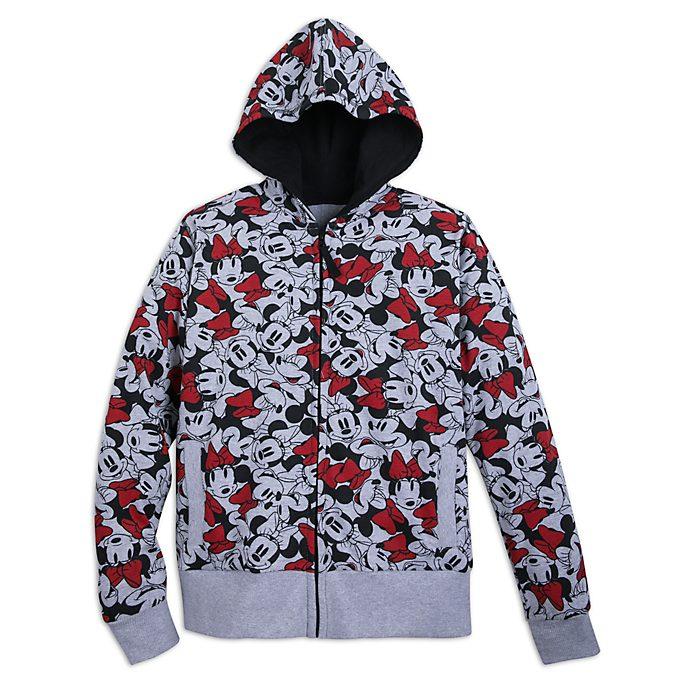 Disney Store Minnie Mouse Ladies' Hooded Sweatshirt