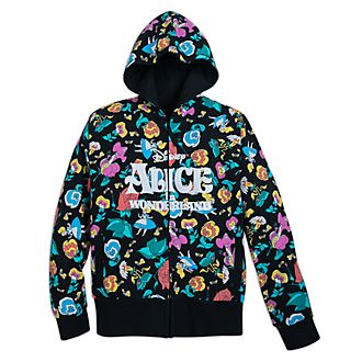 Disney Store Alice In Wonderland Ladies' Hooded Sweatshirt