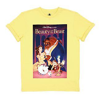 Maglietta VHS adulti La Bella e la Bestia Disney Store