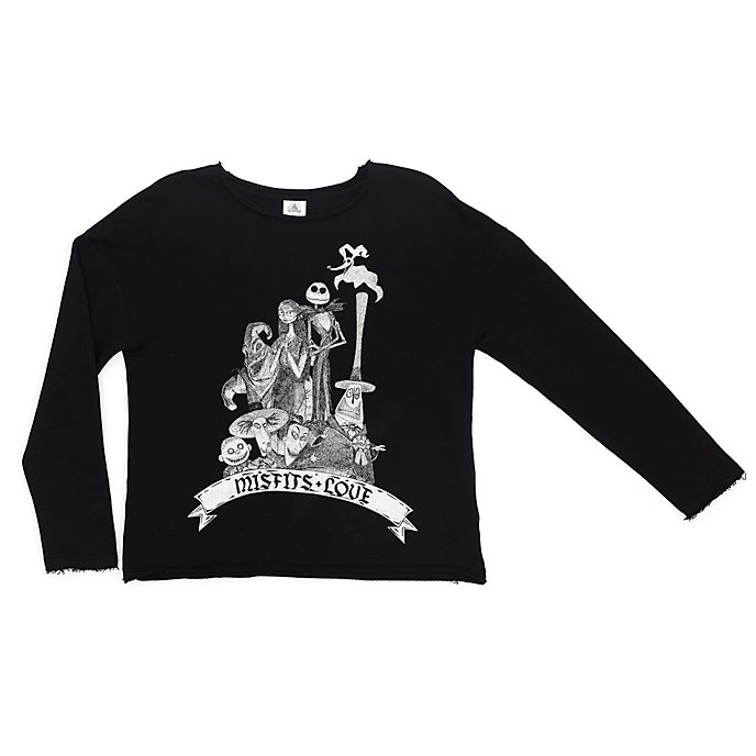 Disney Store The Nightmare Before Christmas Sweatshirt For Adults