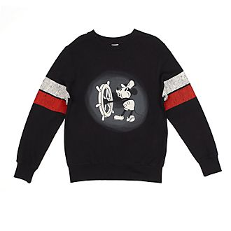 Disney Store Sweatshirt Steamboat Willie pour adultes