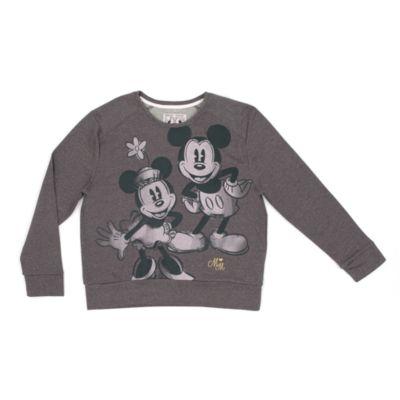 Musse och Mimmi Pigg sweatshirt i damstorlek
