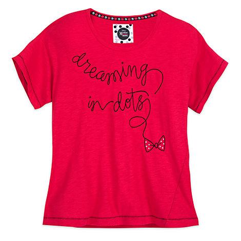 Camiseta de la colección Minnie Rocks The Dots para mujer