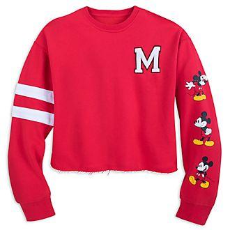 Disney Store Sweatshirt MickeyMouse court pour femme