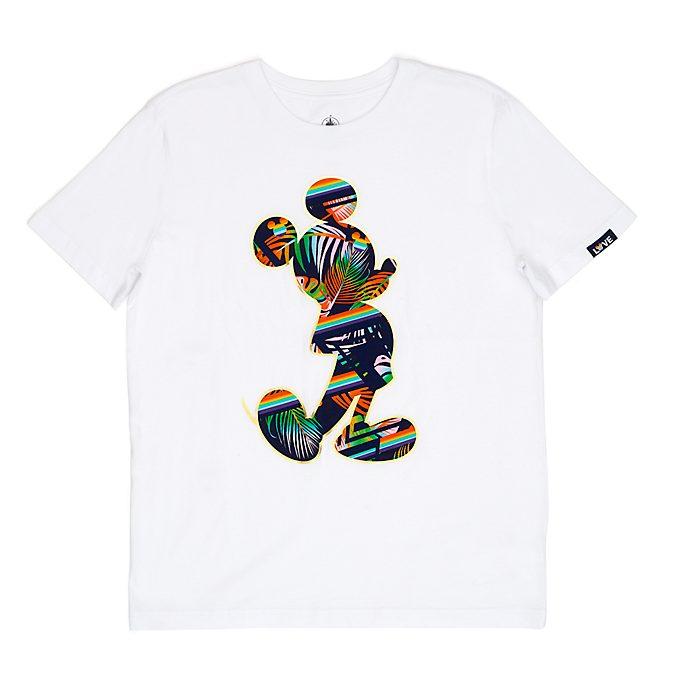 Camiseta para adultos Mickey Mouse, Rainbow Disney, Disney Store