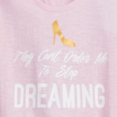 Maglietta rosa Oh My Disney