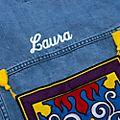 Disney Store Blouson Aladdin en jean pour femmes, collection Oh My Disney