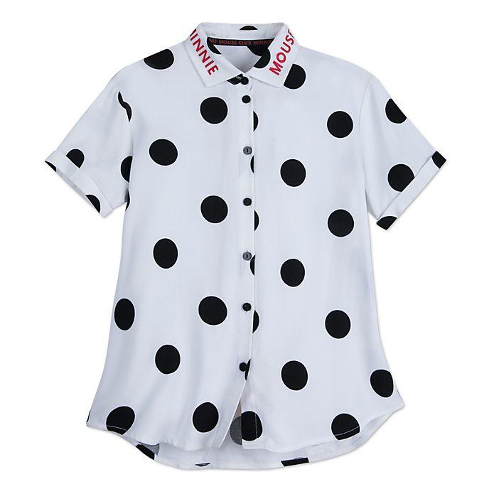 Disney Store Chemise Minnie Rocks the Dots pour adultes