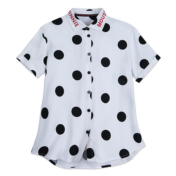 Disney Store Minnie Rocks the Dots Shirt For Adults
